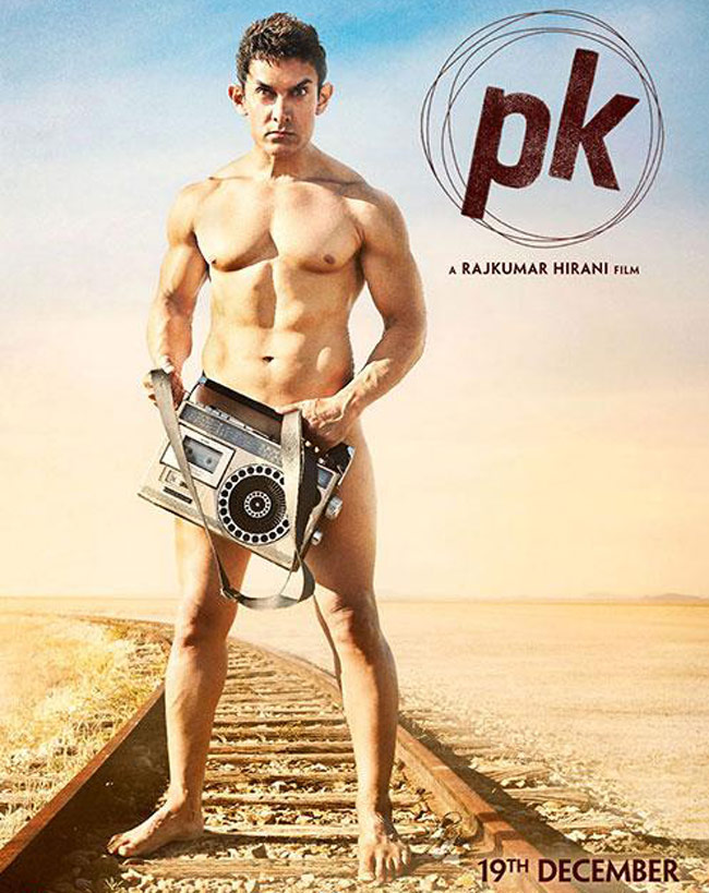 Aamir Khan Goes Nude for PK Poster, Shot in Rajasthan