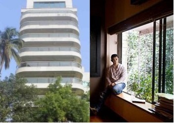 Aamir khan's home in Bandra