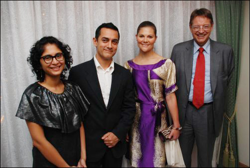 aamir khan with swedish crown princess