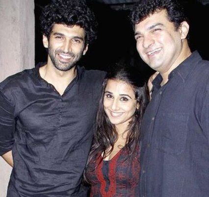 Aditya Roy Kapur with Family