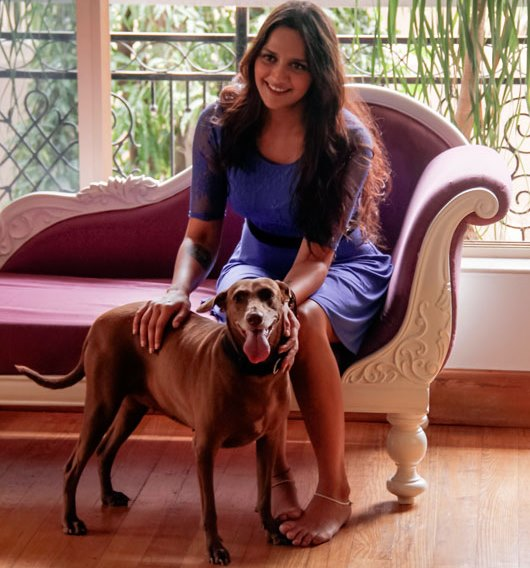 ahana deol for pets, animals