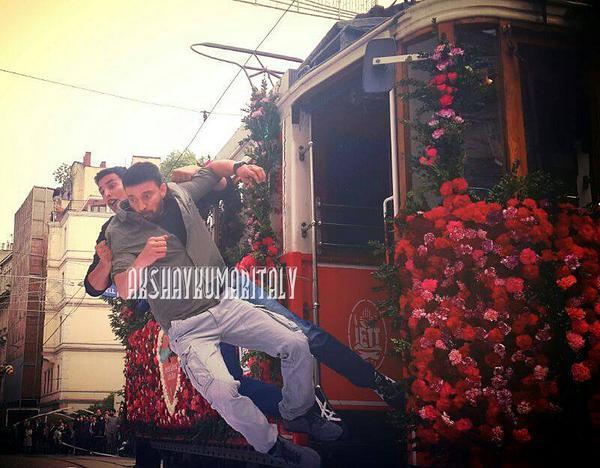 akshay Kumar's baby shot in the trams of istanbul