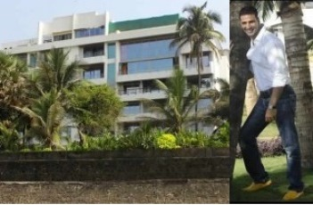 Akshay Kumar's home in juhu