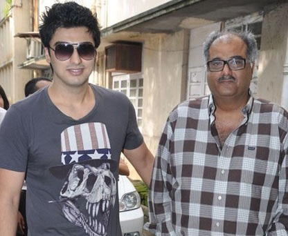 arjun kapoor with father boney kapoor