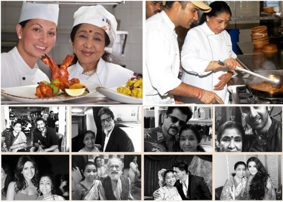 Singing Legend Asha Bhosle's Second Restaurant Opens in Manchester, UK