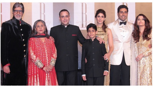 Bachchan family in Dubai for New Year