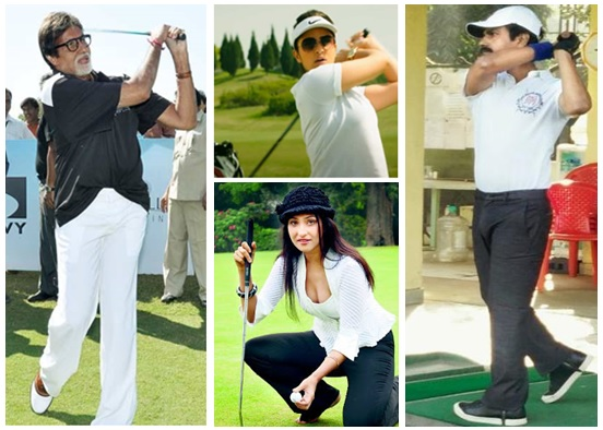 Bollywood and golf