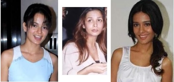 bollywood actors without makeup
