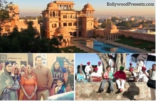 Bollywood in Mandawa in Rajasthan