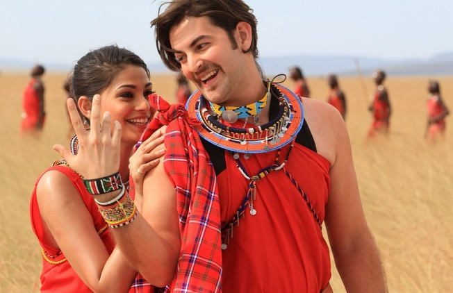 bollywood movie shortcut romeo shot in kenya