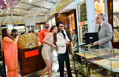 First Bollywood Movie to be Shot at the Dubai Gold Souq, Deira, UAE