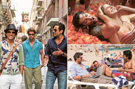 Bollywood Scouting for Locations in Spain