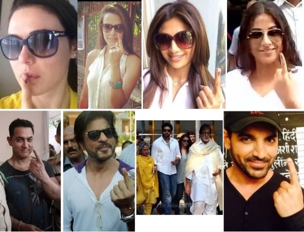 bollywood votes in elections
