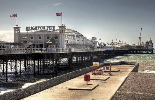 The Brighton Marine Palace And Pier, Brighton, England