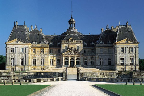 Chateau Vaux-le-Vicomte in France