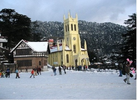 christ church Shimla in Himachal