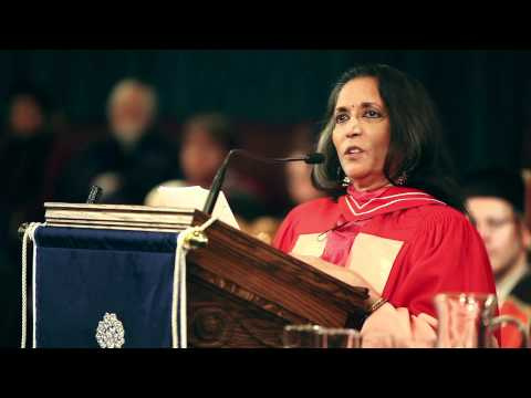 Deepa mehta at University of Toronto, Canada