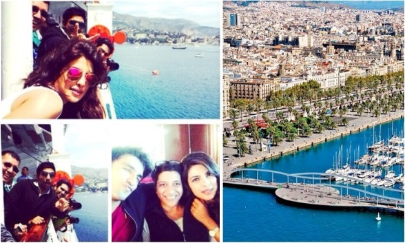Dil Dhadakne Do team at Spain & France in Europe