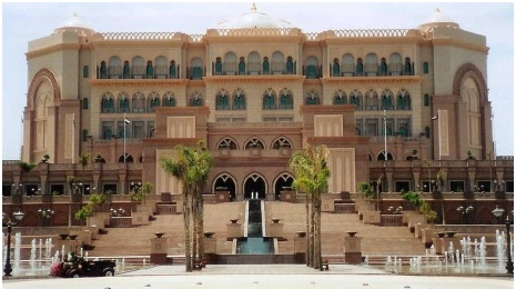 emirates palace hotel, abu dhabi, united arab emirates