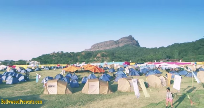 Camping at Aamby Valley