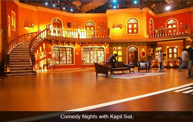 Set of Comedy nights with Kapil, filmcity, Mumbai