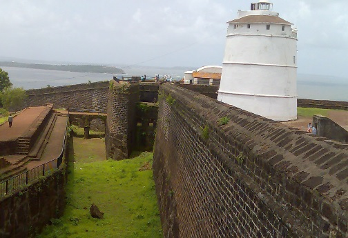 fort aguada, Goa, honeymoon travels