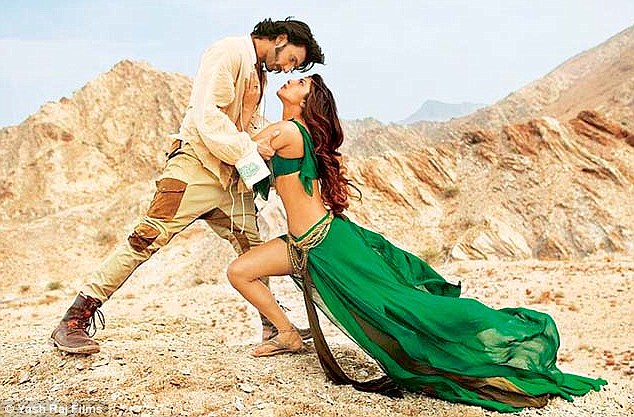 Gunday song jiya shot in oman