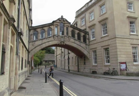 Hertford Bridge AKA Bridge of Sighs (Oxford, England)