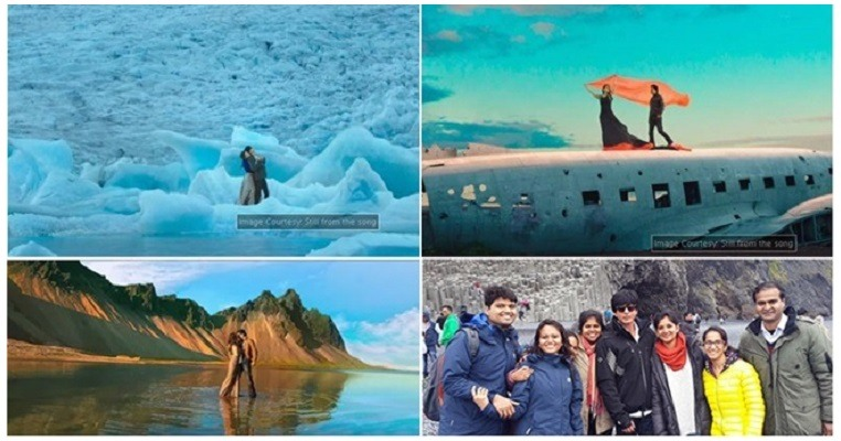 Dilwale song scenes that were filmed in Iceland