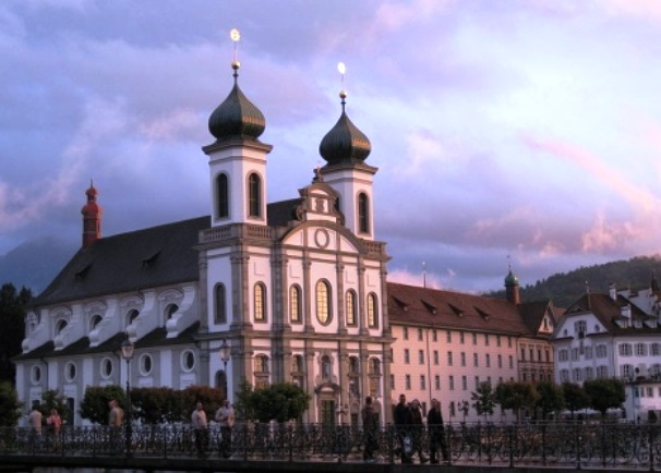 Jesuit Church, Lucerne, Switzerland