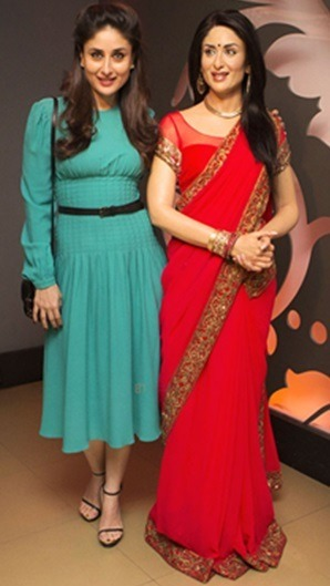 Kareena Kapoor at madame tussauds