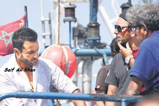 Agent Vinod shot in Morocco