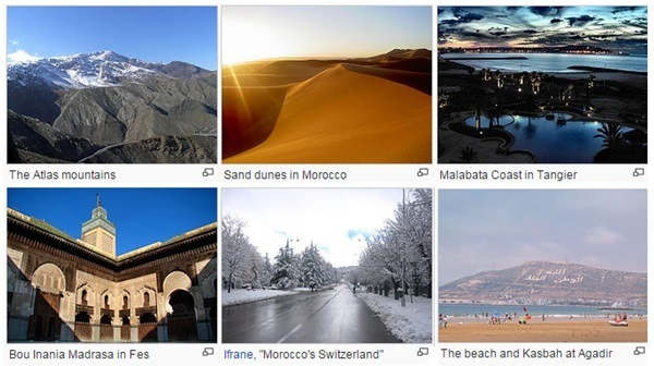 Morocco tourist attractions
