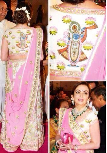Most expensive saree, worn by Nita ambani