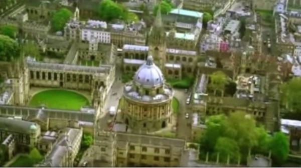 Movies filmed at radcliffe camera, oxford, england