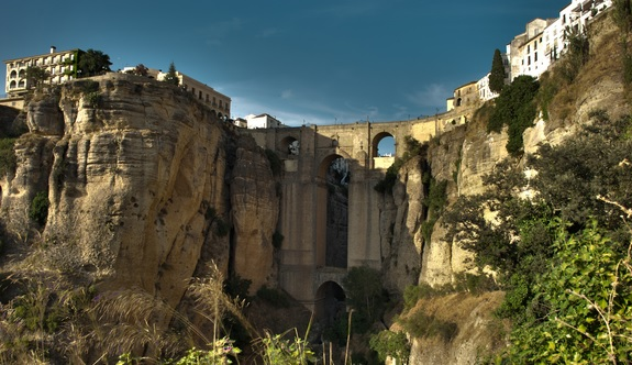 Ronda Bridge, Ronda, Andalusia