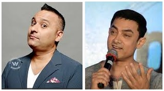 russell peters tells aamir khan to shut up