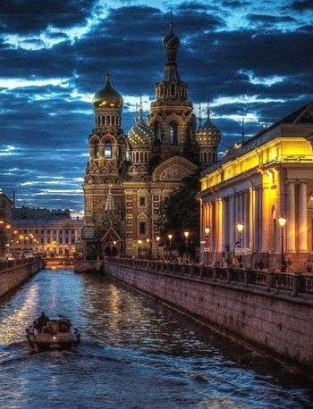 saint petersburg in russia