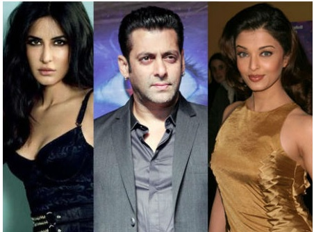 salman khan, Famous Affairs