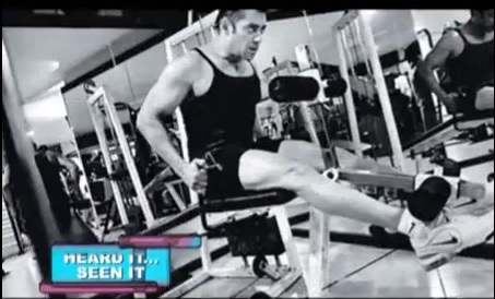 salman khan exercise & fitness
