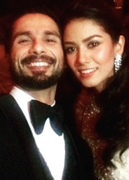 Shahid Kapoor & Mira Rajputs Wedding Reception