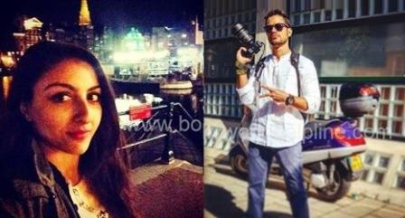 soha ali and kunal Khemu in amsterdam