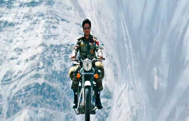 SRK in Jab Tak Hai Jaan, Indus Valley in Ladakh
