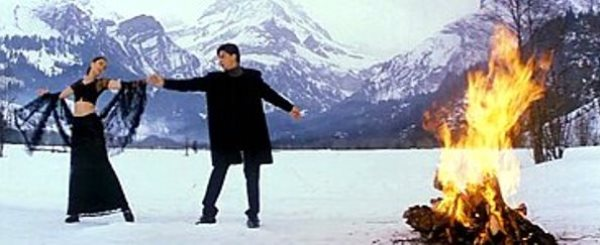 mohabbatein shot in Switzerland