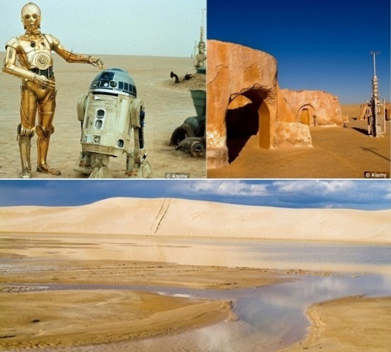 star wars filmed in tunisia