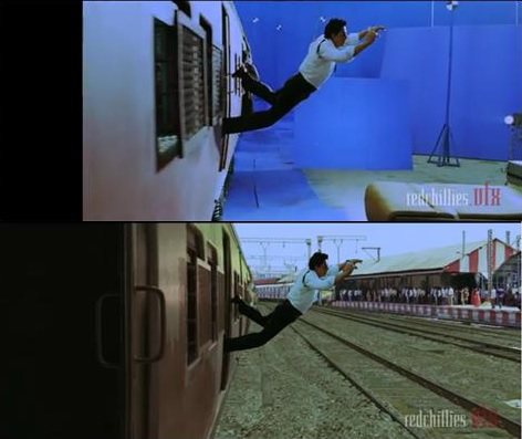 Popular Bollywood Scenes That Used VFX Effects