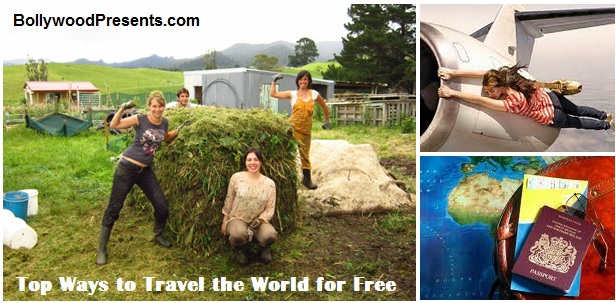 5 Ways to Travel the World for Free