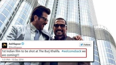 'Welcome Back' Filmed at Burj Khalifa, The Tallest Building in the World & Home to Many Wealthy Indians