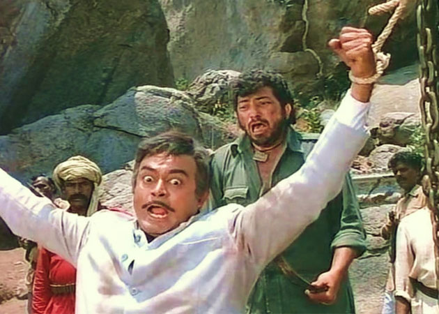 Where was the Movie Sholay Shot?