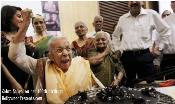zohra sehgal on her 100th birthday